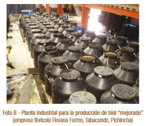 Cómo hacer biol. Planta industrial.