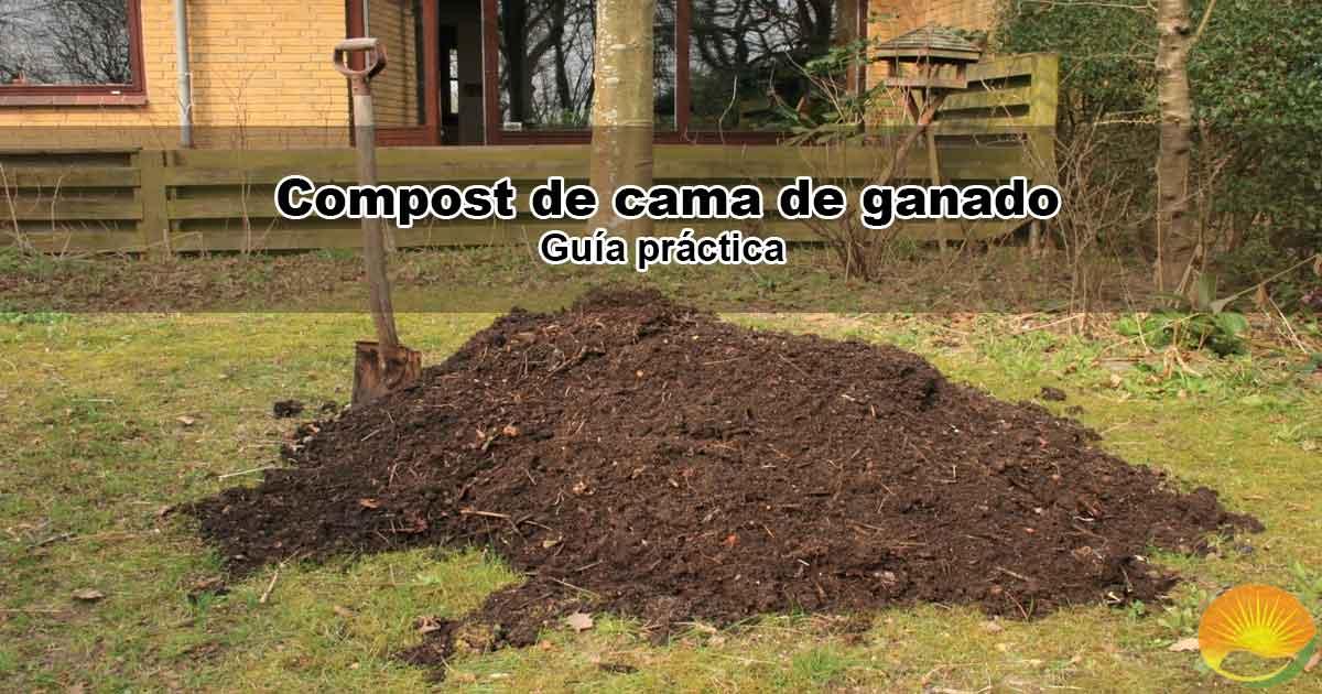 Compost de cama de ganado