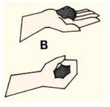 Formar bola de 3 a 5 cm de diámetro