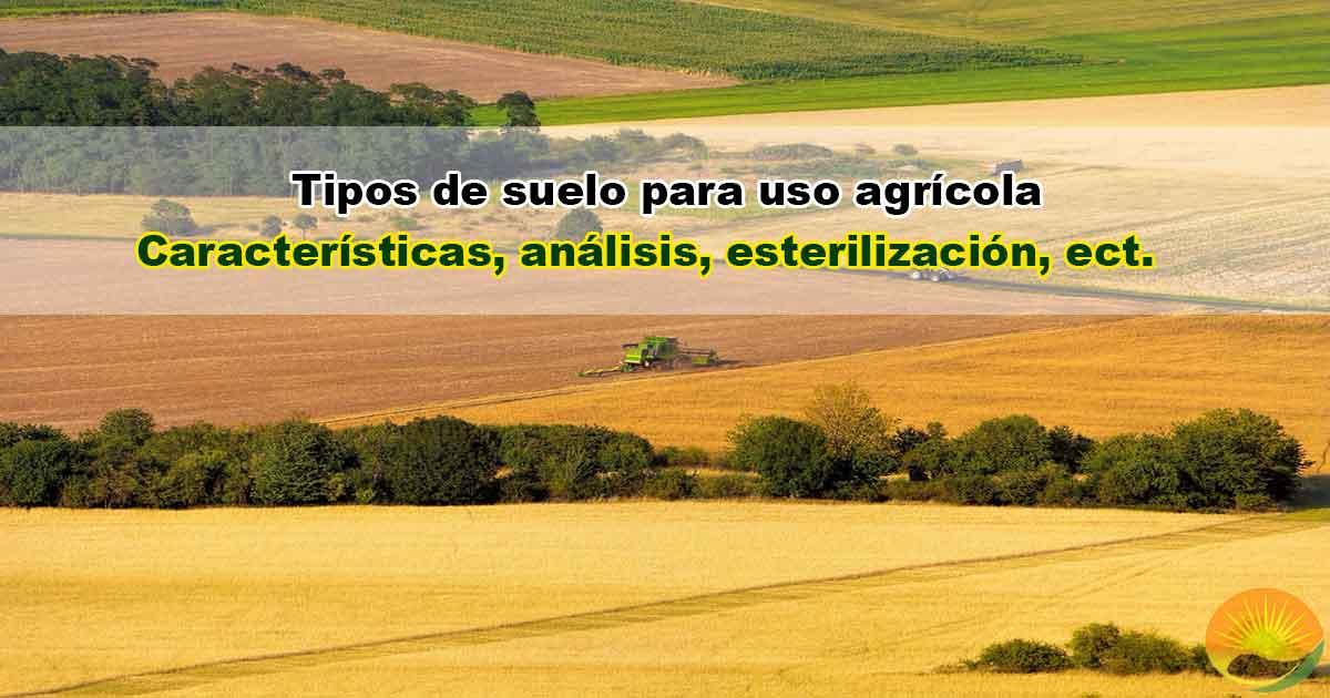 suelo para uso agrícola