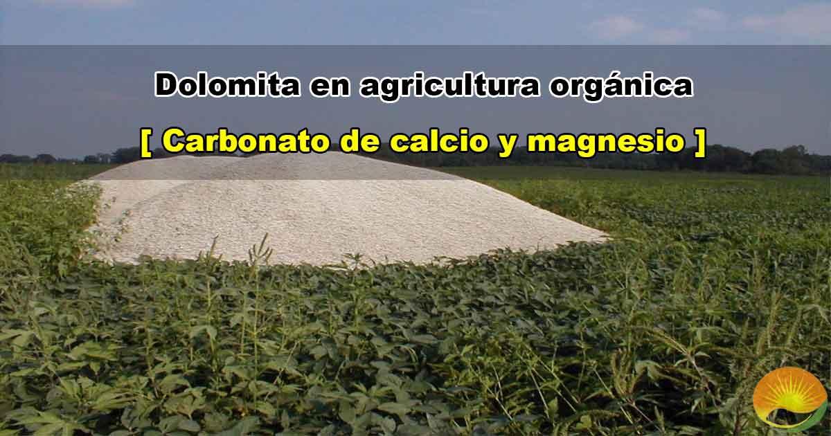 Dolomita agrícola