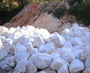 Carbonato de calcio. Piedra de cal