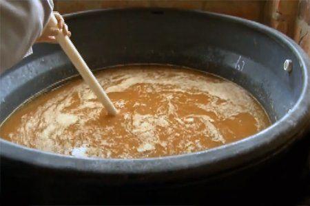 Agroplus Casero en fermentación.
