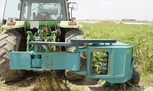 Trituradora de ramas para tractor